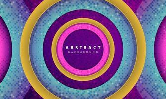 moderner abstrakter lila Hintergrundvektor. Layout-Design mit dynamischen Formen für Sportereignisse. vektor