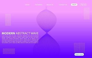 modern abstrakt linje färg bakgrund. hem sida abstrakt design. lila bakgrund.
