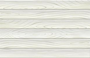 Holzmuster weißer Farbhintergrund. Vektorabbildungen. vektor