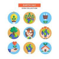 odla jorden för vår framtid vektor