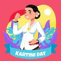 feiert Kartini Tag vektor