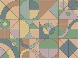 geometrisk rutnät bakgrund vektor