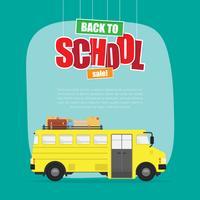 Zurück zu Schulverkaufs-Illustration