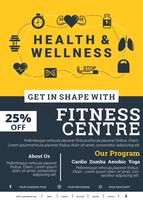 Gesundheit und Wellness-Broschüre