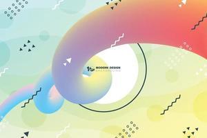 abstrakte Flüssigkeit minimales Design der Linie Wellenmuster Abdeckung Hintergrund. Illustrationsvektor eps10 vektor