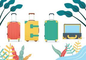 Gepäck-Vektor-Paket