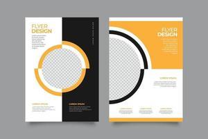 Flyer Verkauf Online-Shopping-Promotion vektor