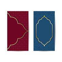 abstrakt bakgrund med traditionell prydnad. vektor illustration. islamisk bakgrundsbanner