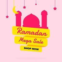 ramadan hälsning försäljning banner