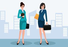 Geschäftsfrau-Vektor vektor
