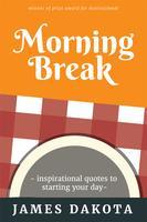 Saubere und minimalistische motivierende Buch Cover Design vektor