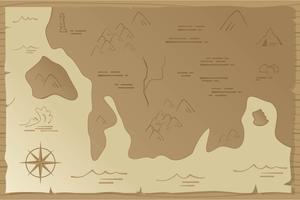 Forntida Kartavektor vektor