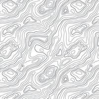 abstraktes topografisches Kartendesign vektor