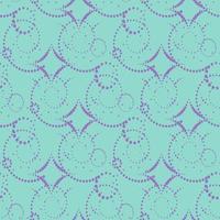 nahtlose Muster mit abstrakter Verzierung. vektor