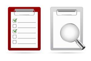 Checkliste Lupensymbol