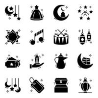 der heilige Monat Ramadhan vektor