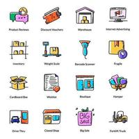 e-handel och logistikleverans