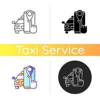taxi tracker ikon