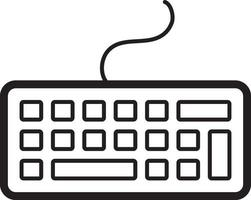 Zeilensymbol für Tastatur