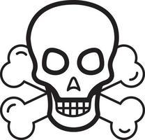 linje ikon för fara
