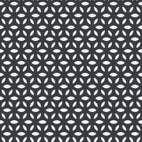 abstraktes geometrisches nahtloses Muster mit Kreisen. modernes abstraktes Design für Papier, Umschlag, Stoff, Inneneinrichtung vektor