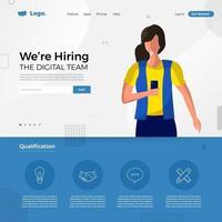 digitales Team stellen wir ein