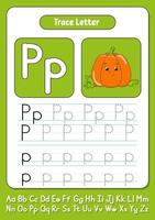 Briefe schreiben p vektor