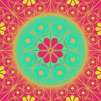 Tudor Rose, die Musterhintergrundkorallenaqua wiederholt vektor