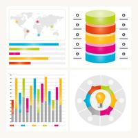 Vektor Infographik Gestaltungselemente