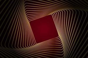 abstrakte Rotgraugoldpfeil metallische Richtung Luxusüberlappungsdesign moderne futuristische Hintergrundvektorillustration. vektor