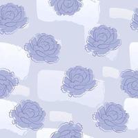 lila pion och sömlösa mönster för abstrakt form
