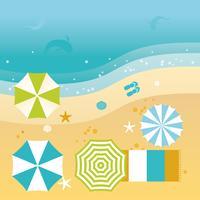 Vektor-schöne Sommer-Illustration