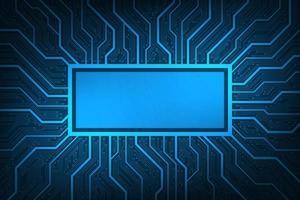 Design im Konzept der elektronischen Leiterplatten.