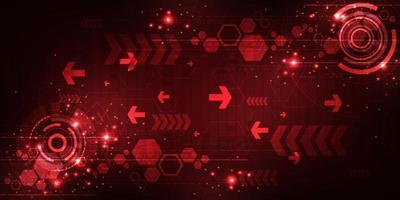 Vektor digitale Technologie Hintergrund