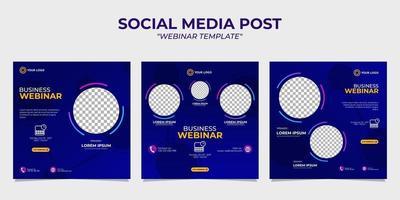 Vorlagen für Social-Media-Story-Post-Webinare