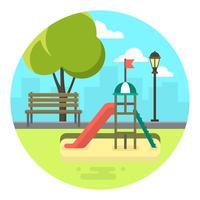 stadsparken vektor