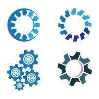 Zahnrad Logo Bilder gesetzt