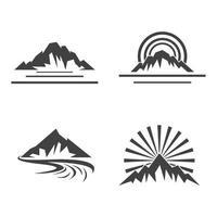 Berg Logo Bilder gesetzt