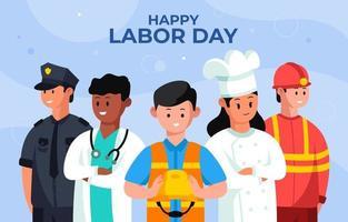 lycklig arbetsdag firande