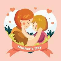 glücklicher Muttertagsentwurf
