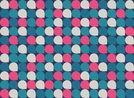 abstrakt färgglada geometriska mönster minimal bakgrund. vektor