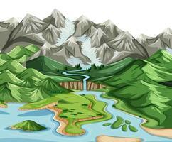 land och vatten geografi landskap