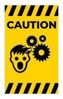 ppe icon.wear Haarnetz Symbol Zeichen isolieren auf weißem Hintergrund, Vektor-Illustration eps.10 vektor