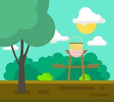 park picknick vektor