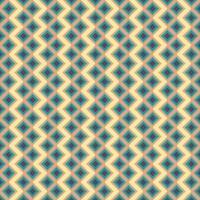 abstrakter geometrischer quadratischer Hintergrund in neutralen Farben. nahtloses Blau. orange und gelbes Vektormuster. Mode Stoff Patchwork Design. einfaches Geometrie-Chevron-Muster vektor