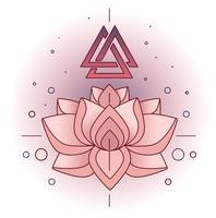 Lotus-Vektor vektor
