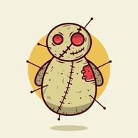 Voodoo-Puppe Vektor