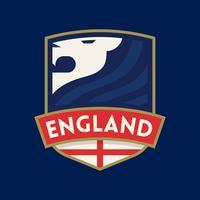 England WM Fußball-Abzeichen vektor