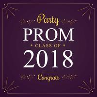 Luxus goldenen Party Prom Hintergrund