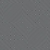 Schwarzweiss-Linienmusterentwurf vektor